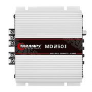 Amplificador Taramps Digital MD 250.1 250W RMS 4 Ohms