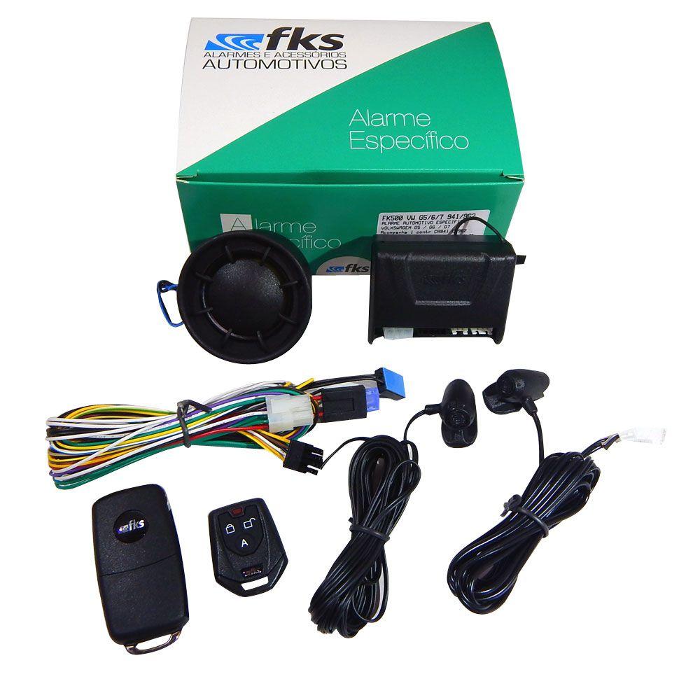 Alarme Automotivo FKS FK500 VW – p VW G5, G6 e G7