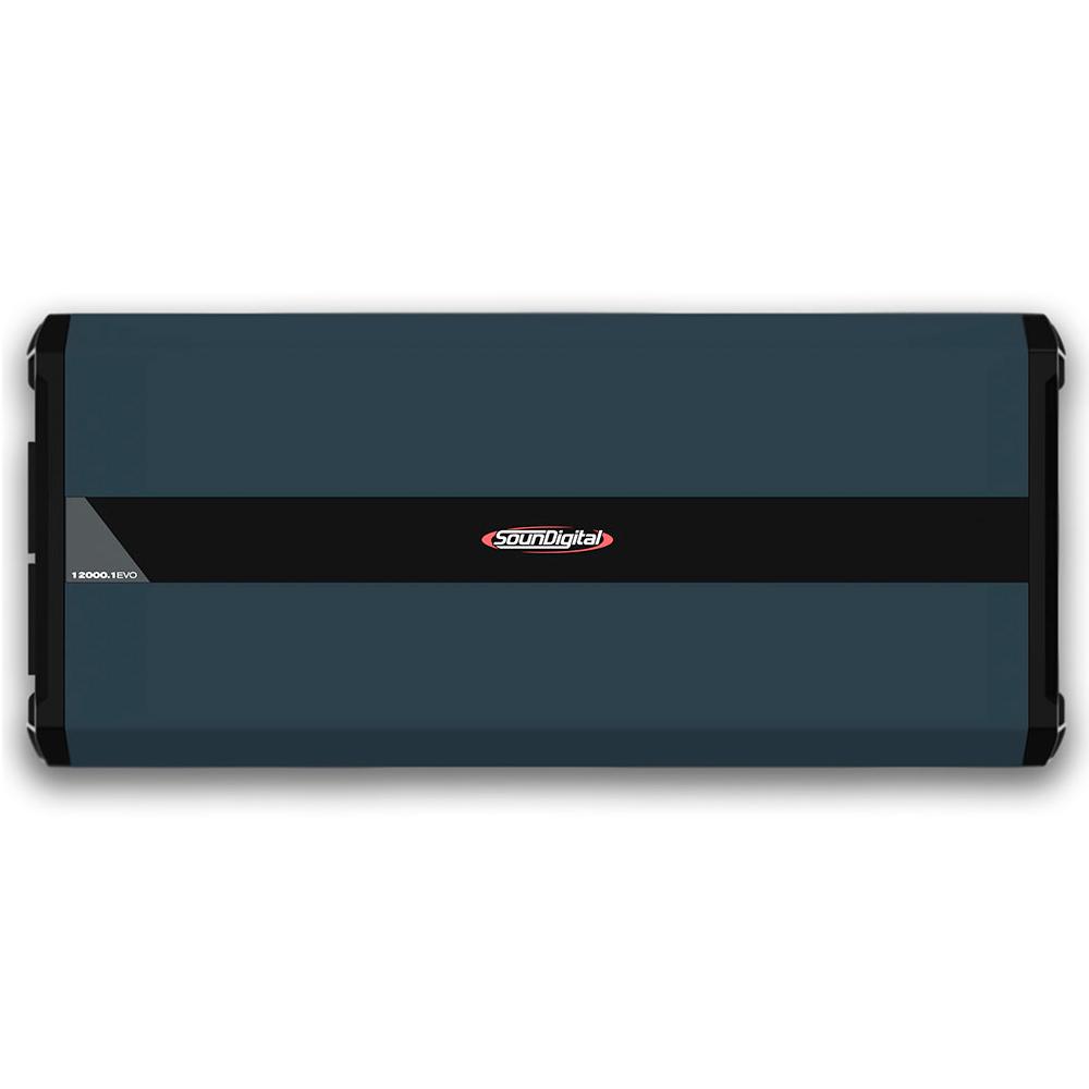 AMPLIFICADOR DIGITAL SOUNDIGITAL SD12000.1D EVO 4.0 - 1 OHM