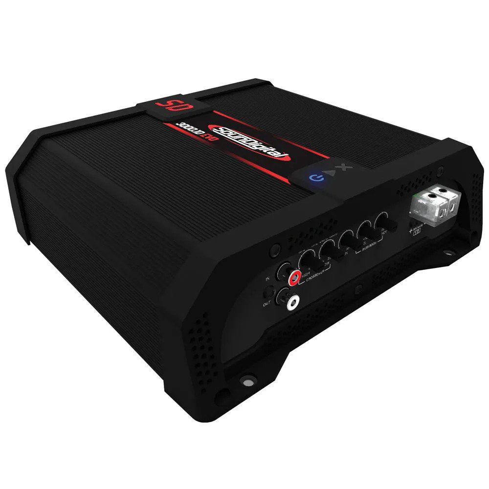 Amplificador Digital Soundigital Sd3000.1d Evo2 3000w - 2 Ohms