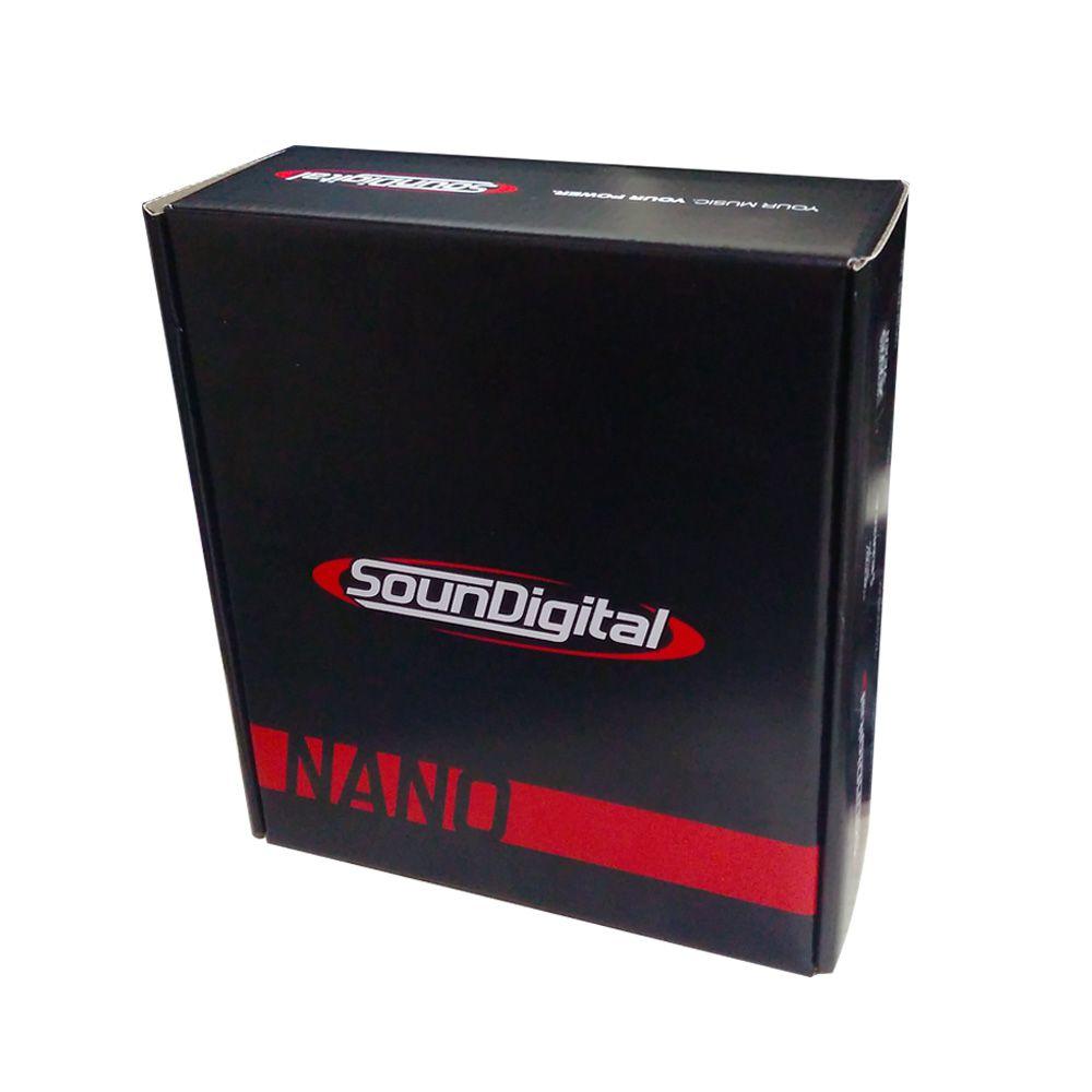 Amplificador Digital Soundigital Sd3000.1d Nano 3000w 2 ohms