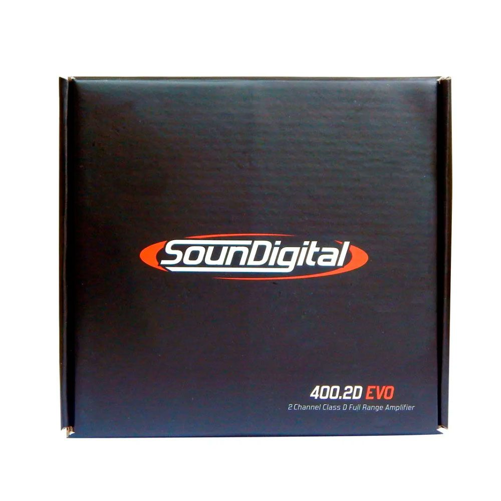 Amplificador Digital Soundigital Sd400.2d Evo2 400w - 2 Ohms
