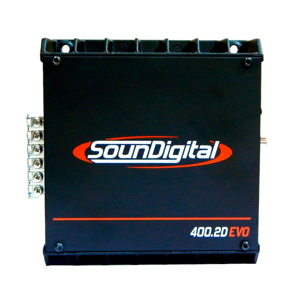 Amplificador Digital Soundigital Sd400.2d Evo2 400w - 4 Ohms