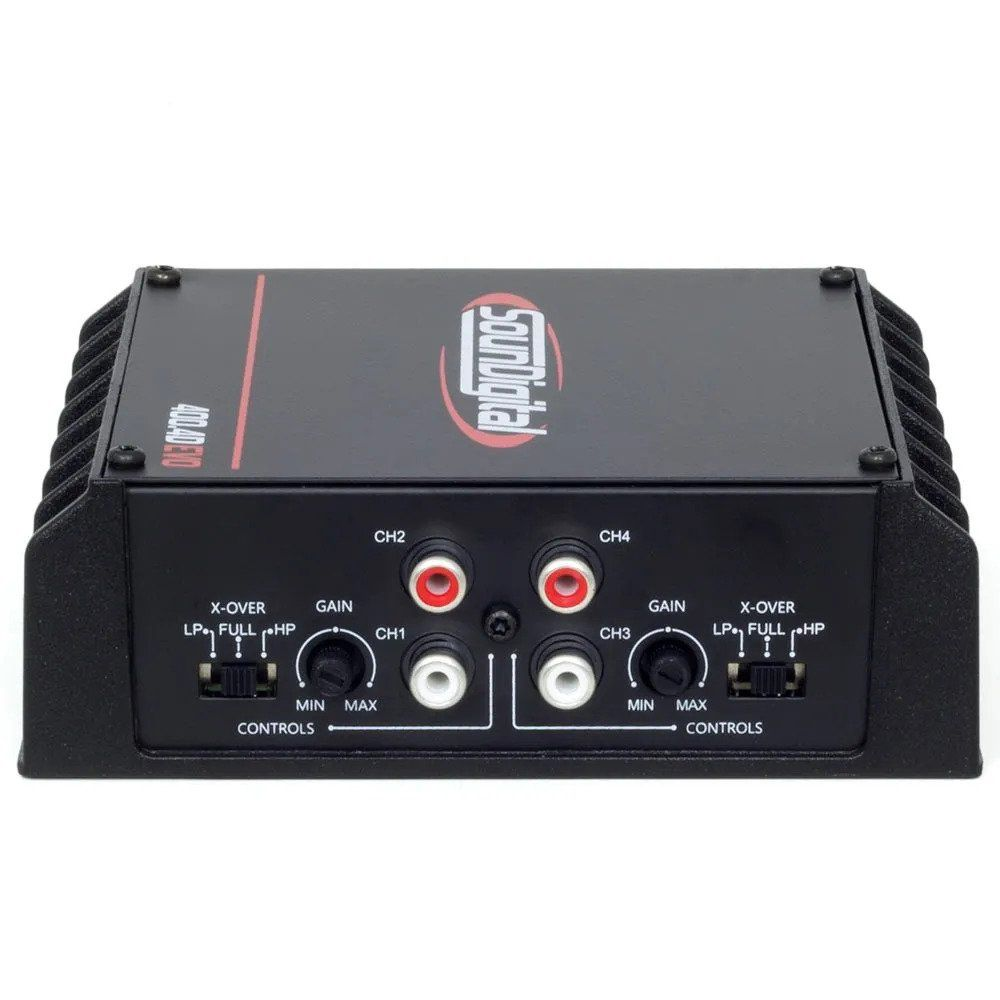 Amplificador Digital Soundigital Sd400.4d Evo2 800w - 4 Ohms