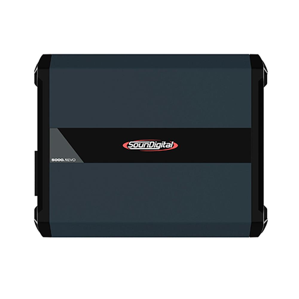 AMPLIFICADOR DIGITAL SOUNDIGITAL SD5000.1D EVO 4.0 - 2 OHMS