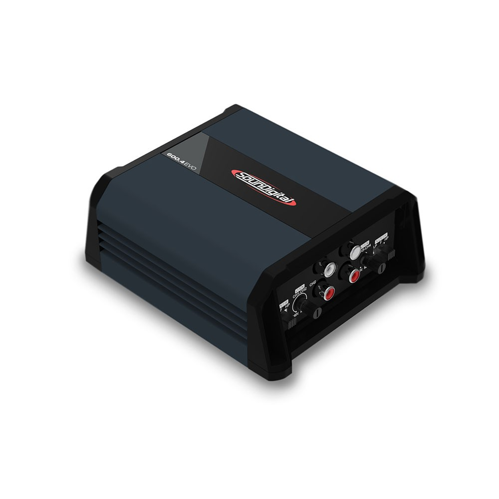 AMPLIFICADOR DIGITAL SOUNDIGITAL SD600.4D EVO 4.0 - 4 OHMS - (4X150W RMS À 2 OHMS)