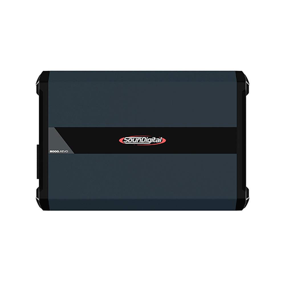 AMPLIFICADOR DIGITAL SOUNDIGITAL SD8000.1D EVO 4.0 - 2 OHMS