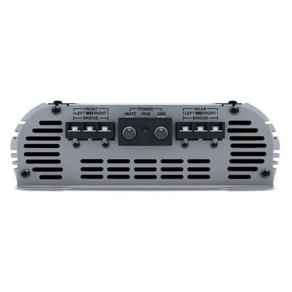 AMPLIFICADOR DIGITAL STETSOM HL1200.4 C/ CROSSOVER 1200W RMS (4 CANAIS) - 4 X 300W RMS (2 OHMS)