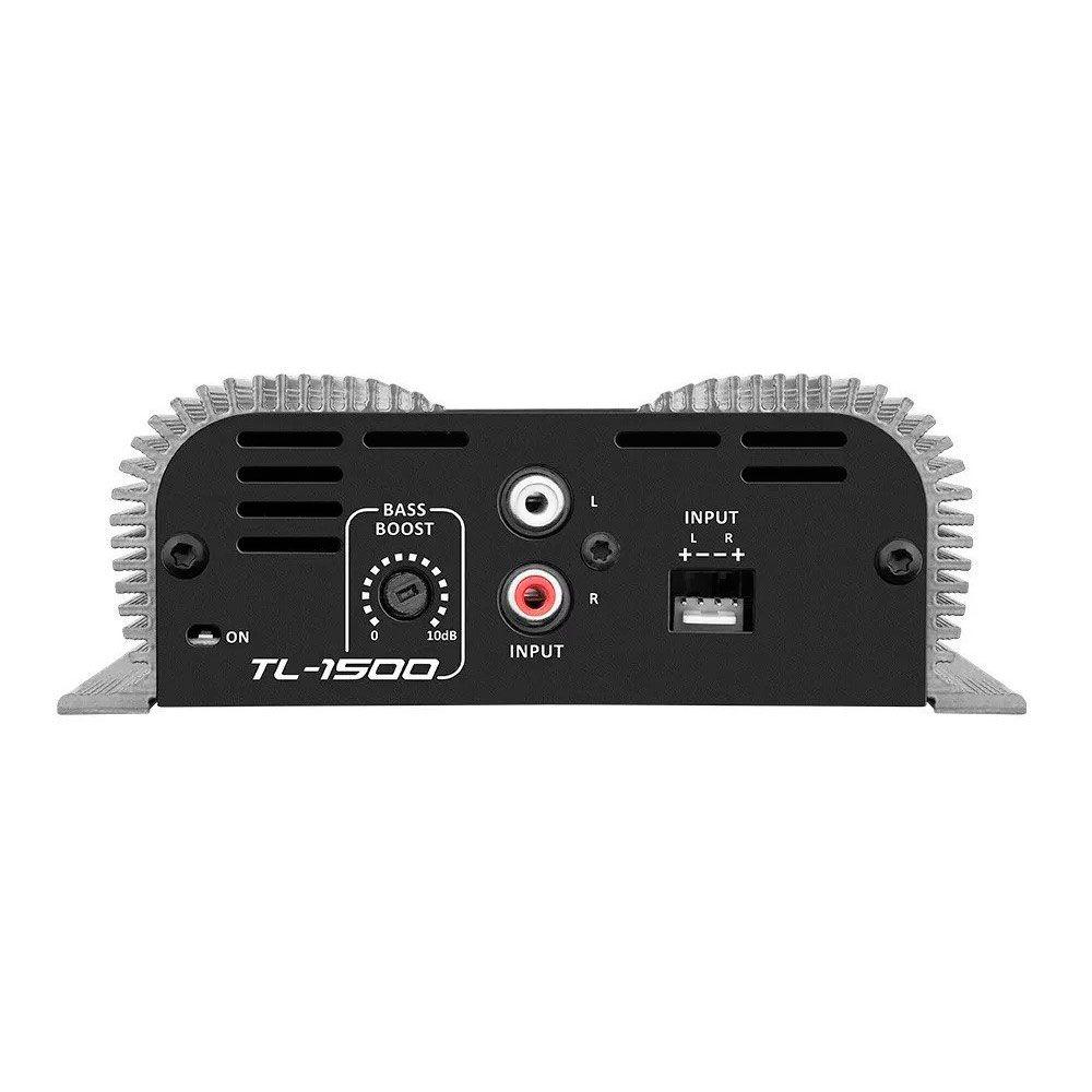 Amplificador Digital Taramps TL 1500 390W RMS 3 canais 2 ohms - TL-1500