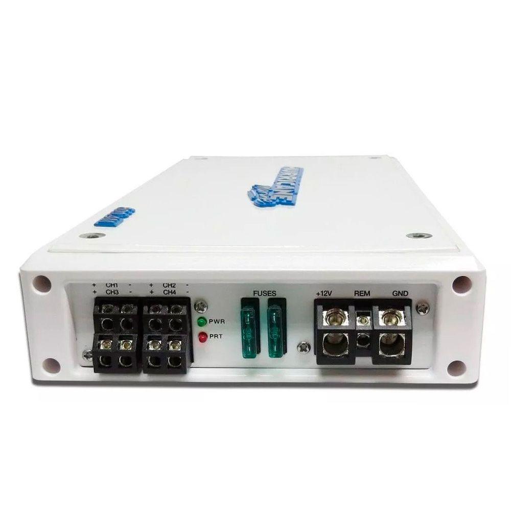 Amplificador Náutico Hurricane H800.4M  4X200W RMS 2 Ohms