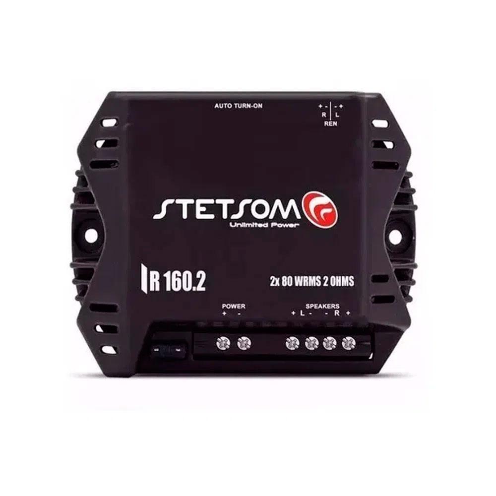 Amplificador Stetsom 160w Iron Line Ir 160.2 Digital 2 Ohms