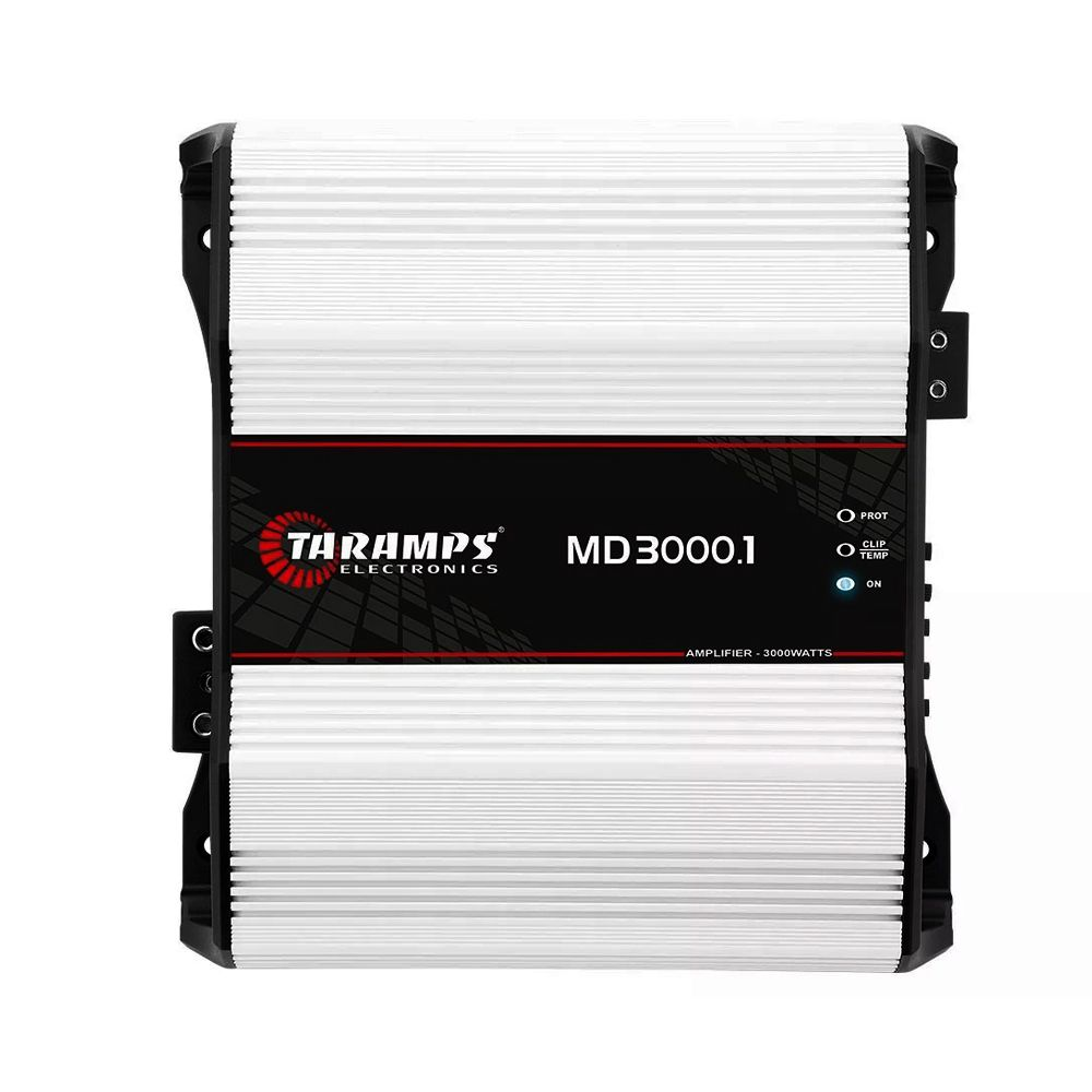 Amplificador Taramps MD3000.1 3000w Rms 1 Canal – 2 Ohms
