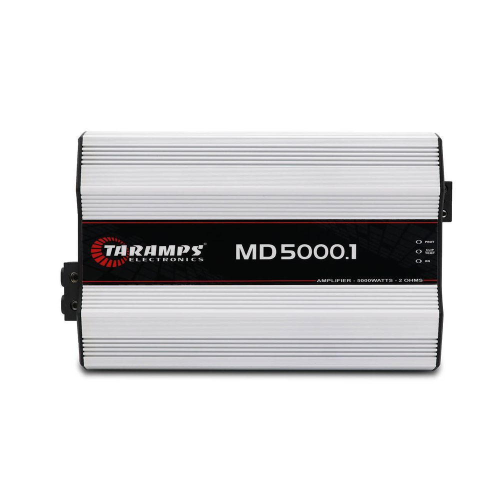 Amplificador Taramps MD5000.1 5000w Rms 1 canal – 2 Ohms