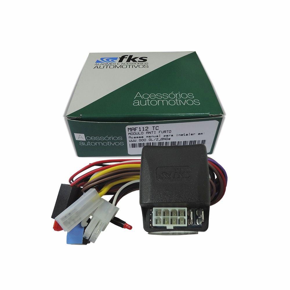 Bloqueador de Ignição Antifurto FKS MAF 112 TC – c LED Indicador