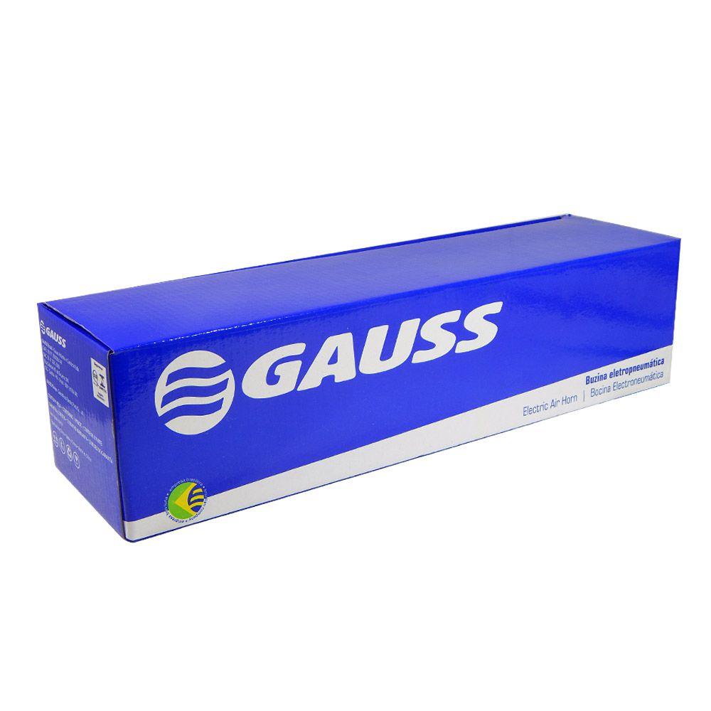 Buzina Autom. Gauss Corneta Cromada Eletropneum.12V - GB1007