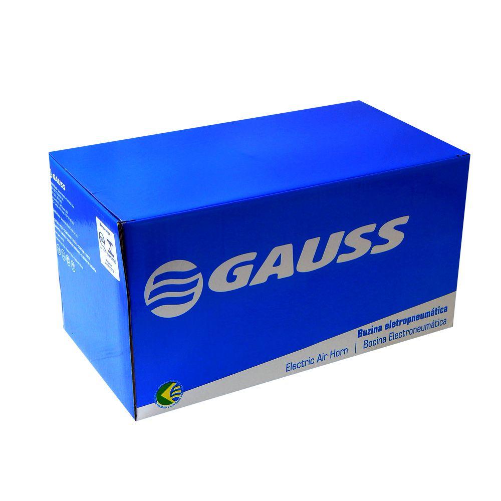 Buzina Automotiva Gauss 3 Cornetas Eletropneum. 24V - GB1014