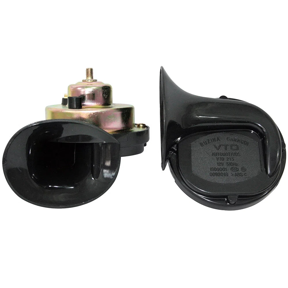 Buzina Automotiva VTO VT215 Caracol Dupla Universal 12V - VT215/GB1054