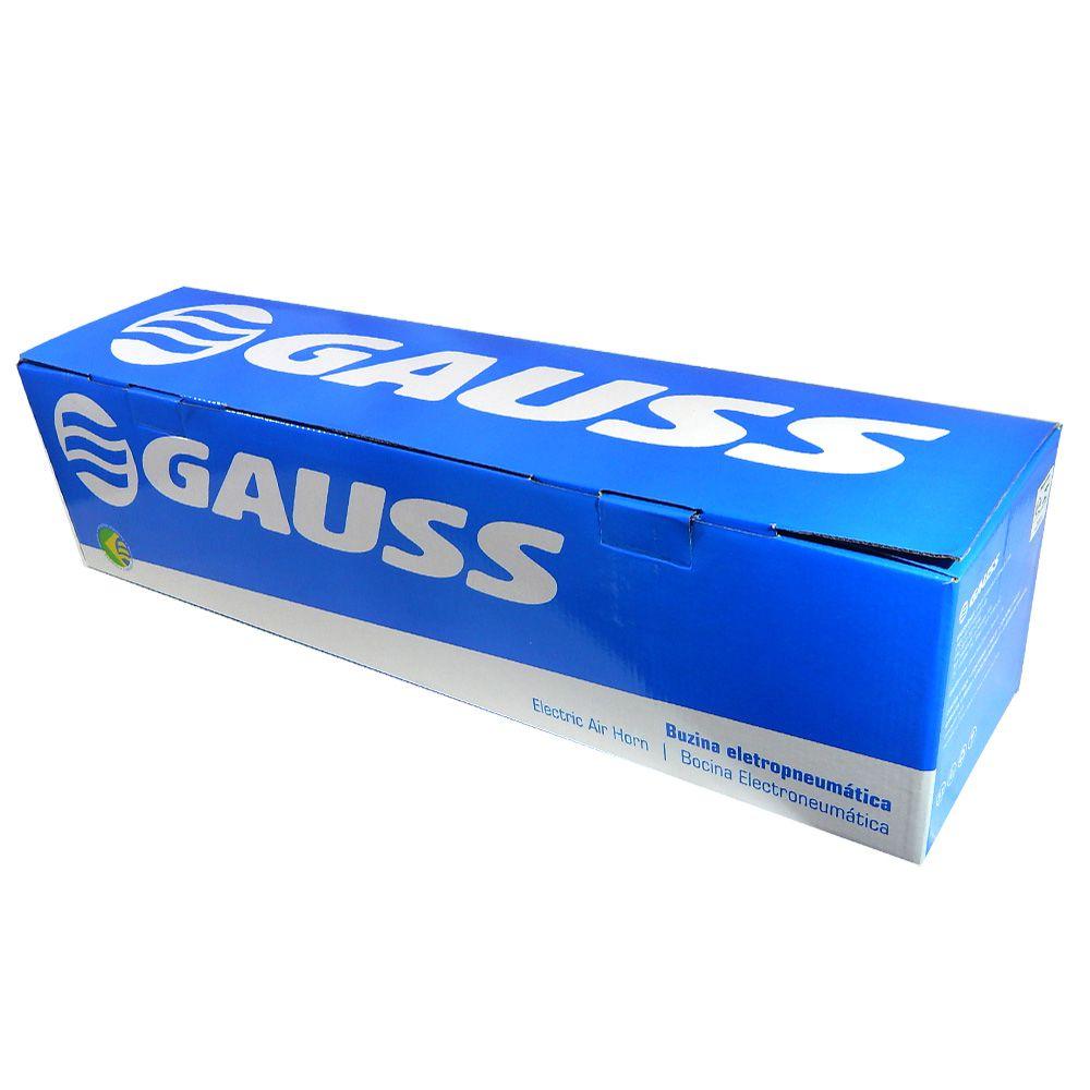 Buzina eletropneumática Gauss Caminhão 12v – GB1015
