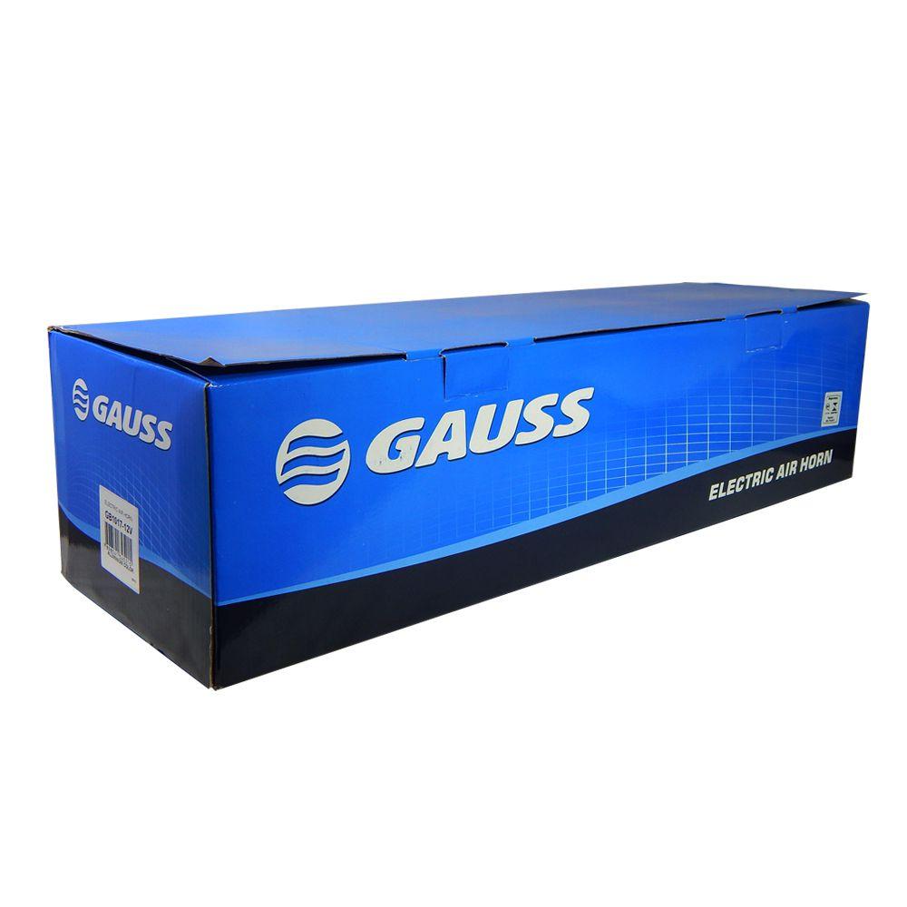 Buzina eletropneumática Gauss Caminhão 12v – GB1017