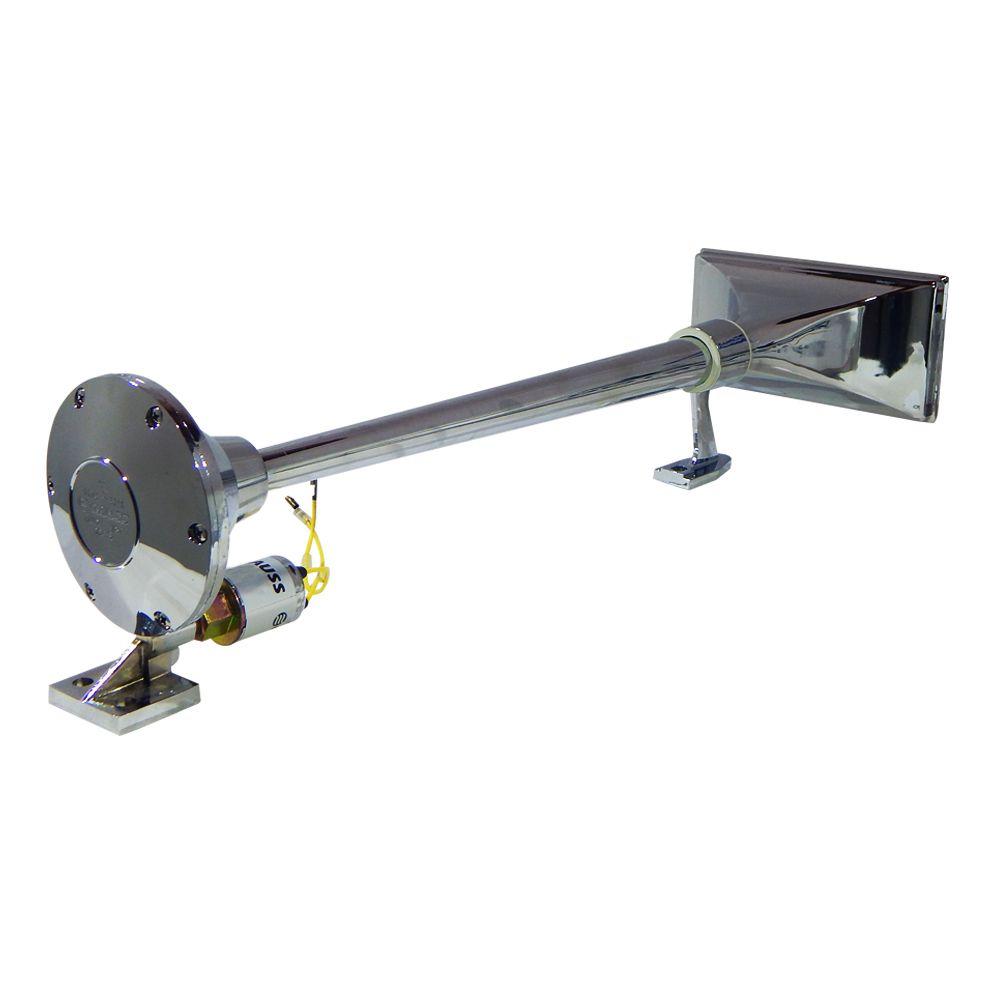 Buzina eletropneumática Gauss Caminhão 24v - GB1018 640MM