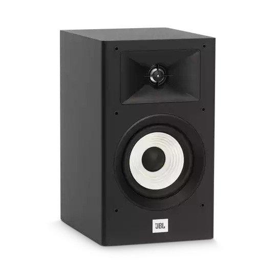 Par de Caixas Acústicas Bookshelf Jbl Stage A130 Black - 150W - 110V/240V