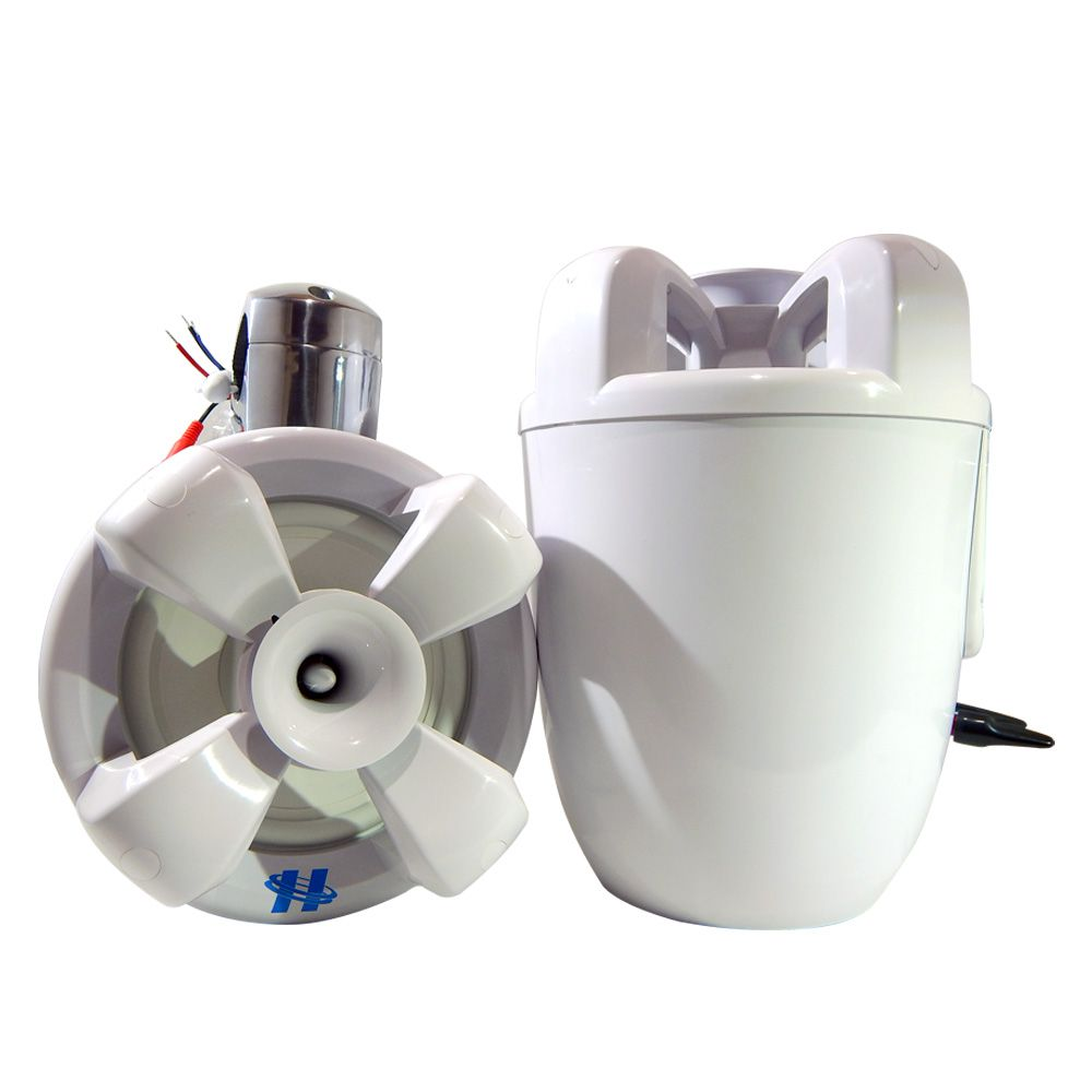 "Caixa Amplificada Náutica Wakeboard Hurricane 8"" Bluetooth"