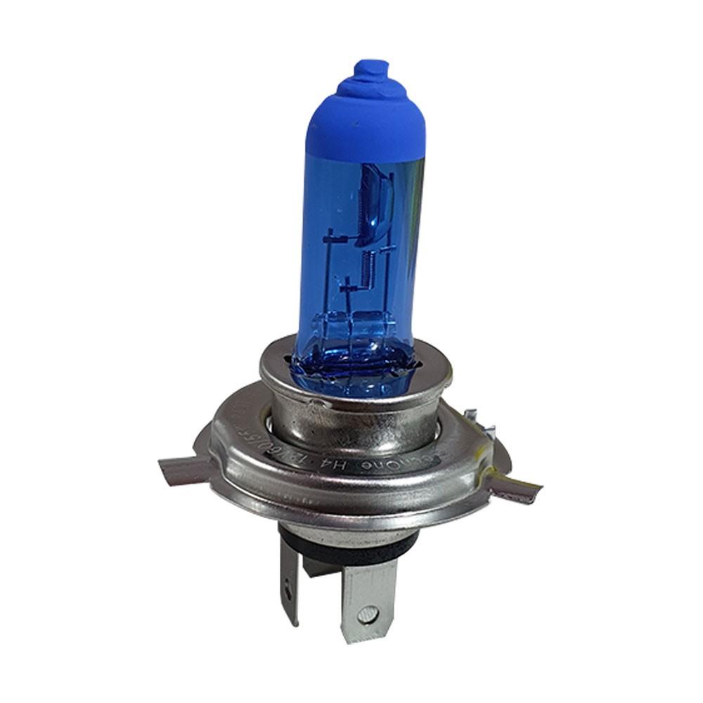 Kit 10 Lampada Super Branca H4 8500k 12v 55w Techone