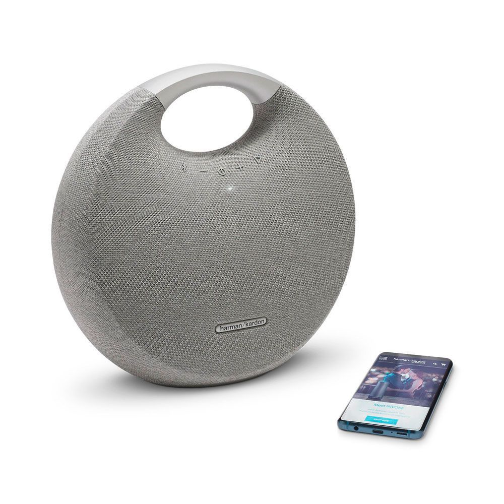 Caixa de Som Bluetooth Harman Kardon Onyx Studio 5 Cinza