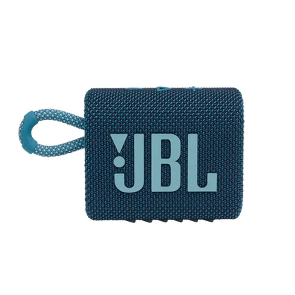 Caixa De Som Jbl Go 3 Portátil Com Bluetooth Azul