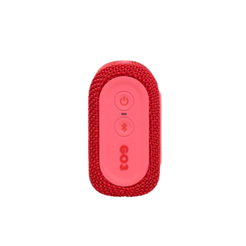 Caixa De Som Jbl Go 3 Portátil Bluetooth Vermelha