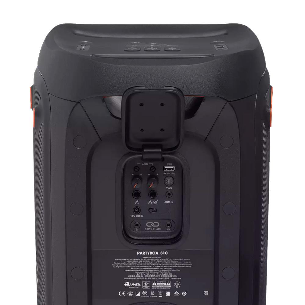 Caixa De Som Bluetooth Jbl Party Box 310 240w Rms Bat 18hs