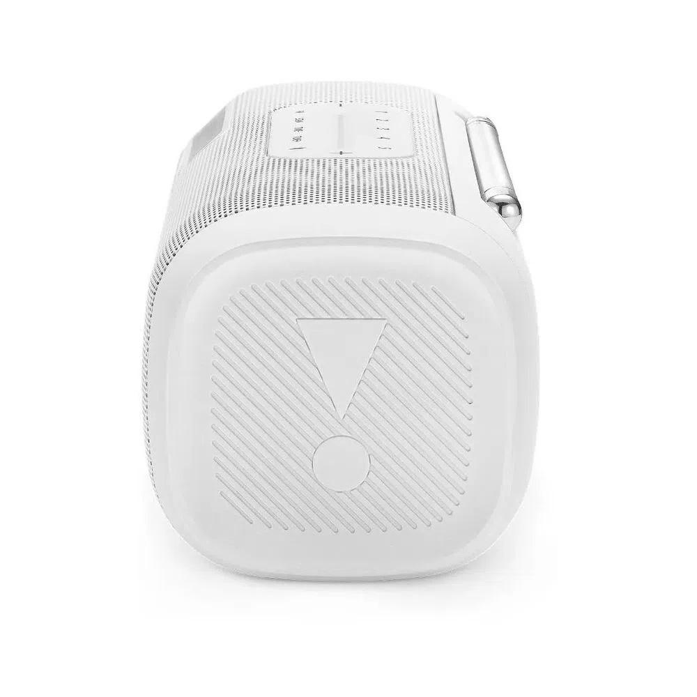 Caixa De Som Jbl Tuner Fm Speaker Bluetooth Portátil Branco