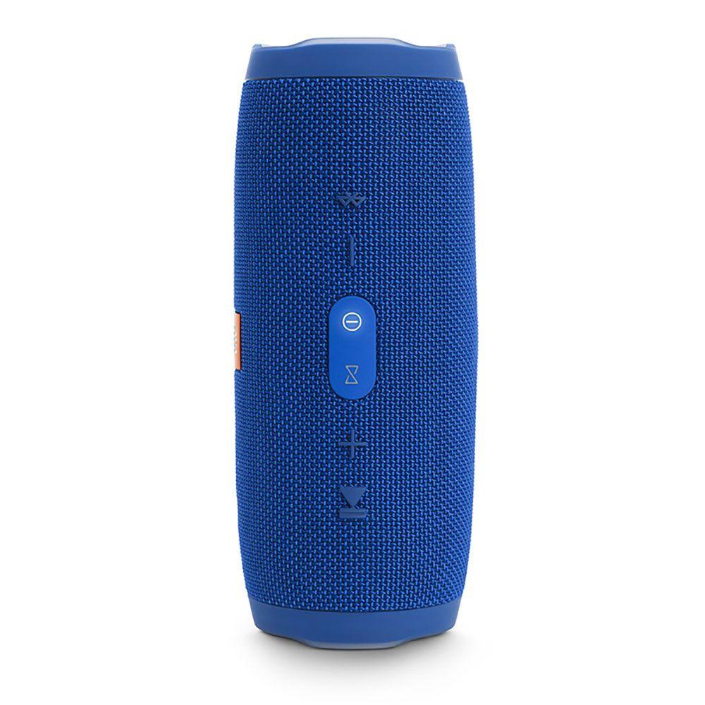 Caixa de Som Portátil JBL Charge 3 Azul Bluetooth