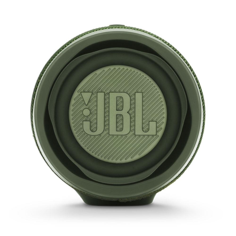 Caixa de Som Portátil JBL CHARGE 4 VERDE Bluetooth 30W RMS - JBL CHARGE 4 GREEN - BATERIA 20HS / IPX7 - JBLCHARGE4GRN