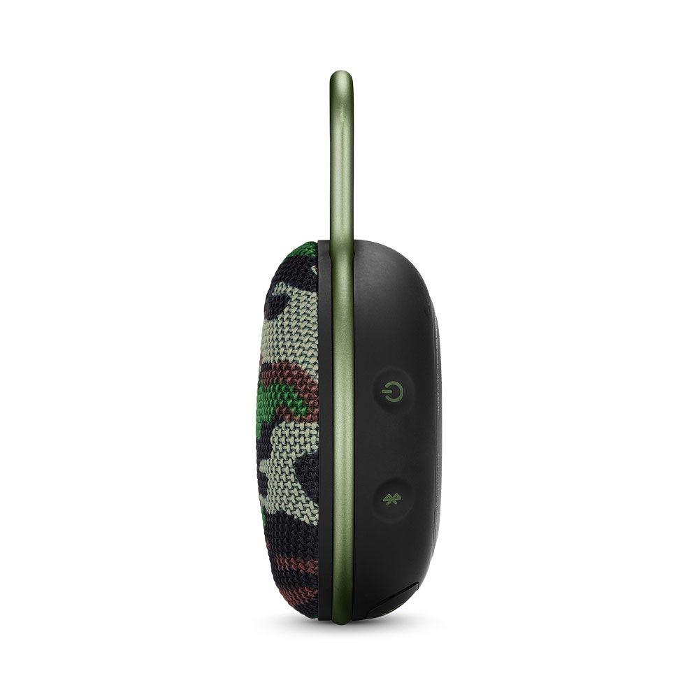 Caixa de Som Portátil JBL Clip 3 Squad Camuflada Bluetooth