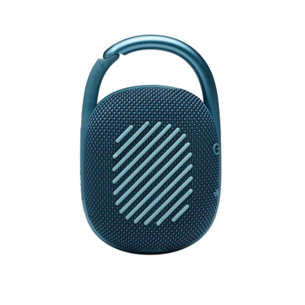 Caixa De Som Portátil Jbl Clip 4 Azul Bluetooth 10hs Bat