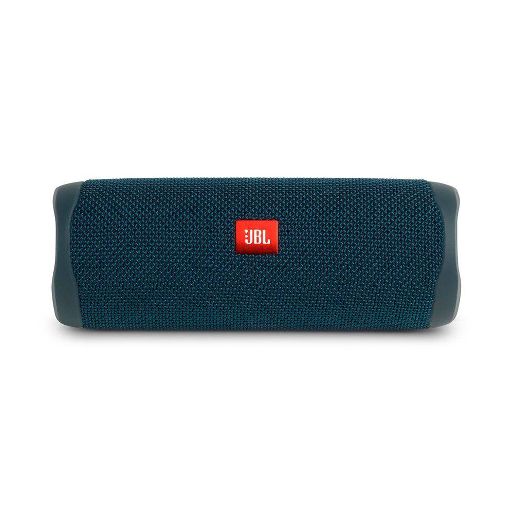 Caixa de Som Portátil JBL Flip 5 Azul Bluetooth