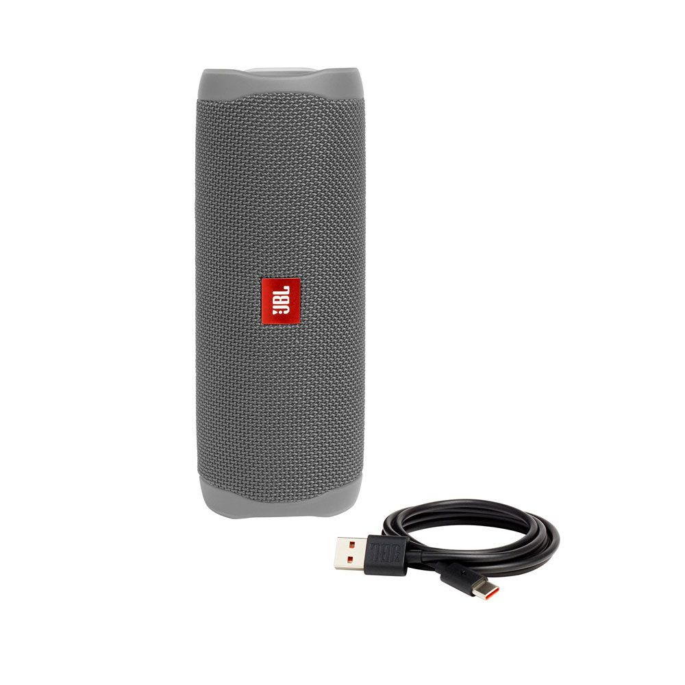 Caixa de Som Portátil JBL FLIP 5 CINZA Bluetooth 20W RMS