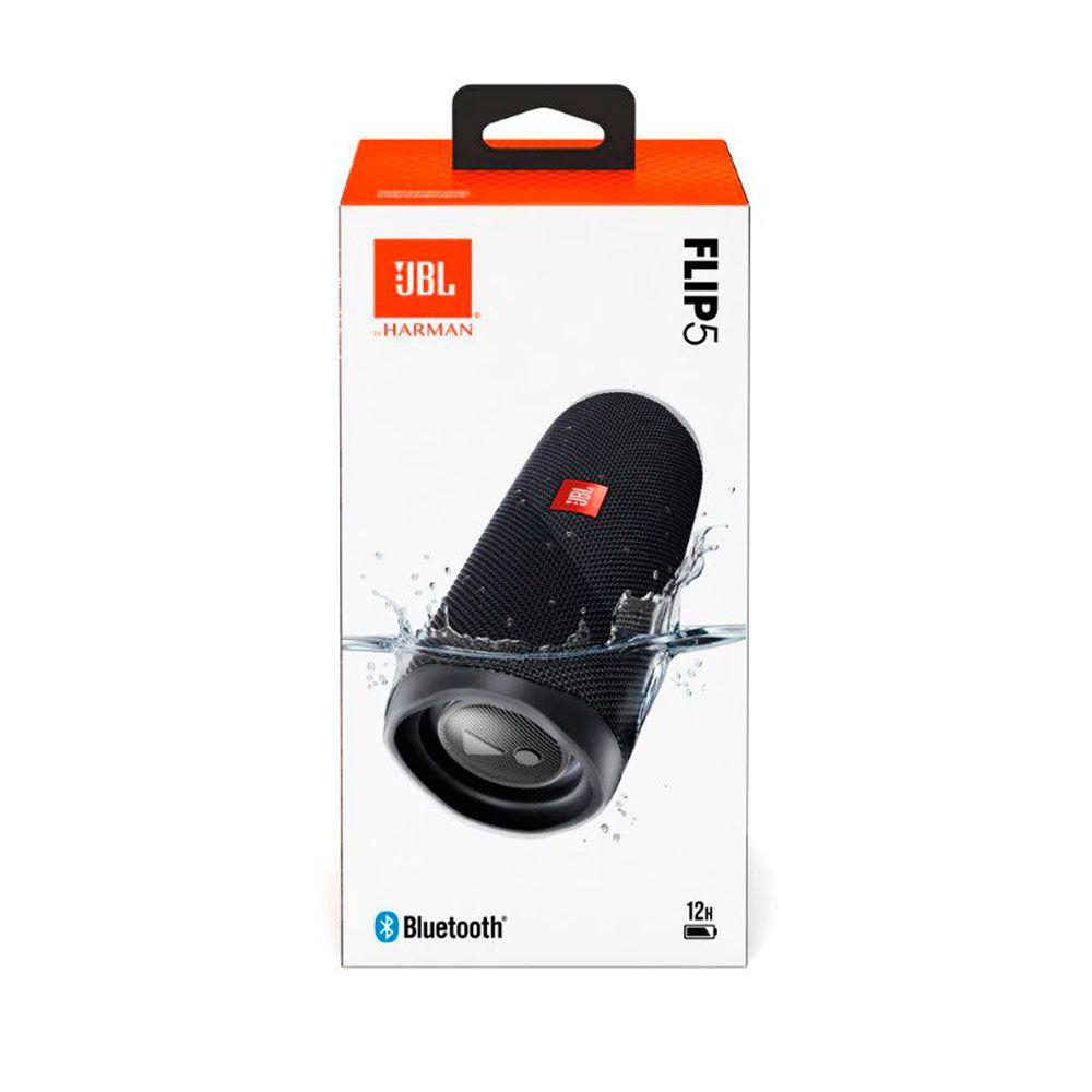 Caixa de Som Portátil JBL FLIP 5 PRETO Bluetooth 20W RMS