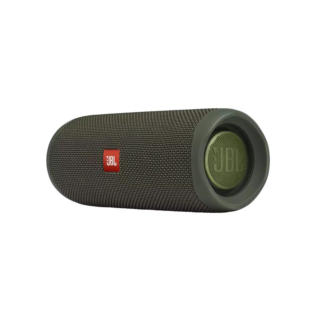 Caixa de Som Portátil JBL FLIP 5 VERDE Bluetooth 20W RMS - JBL FLIP 5 GREEN - BATERIA 12HS / IPX7 - CÓD. JBLFLIP5GREN