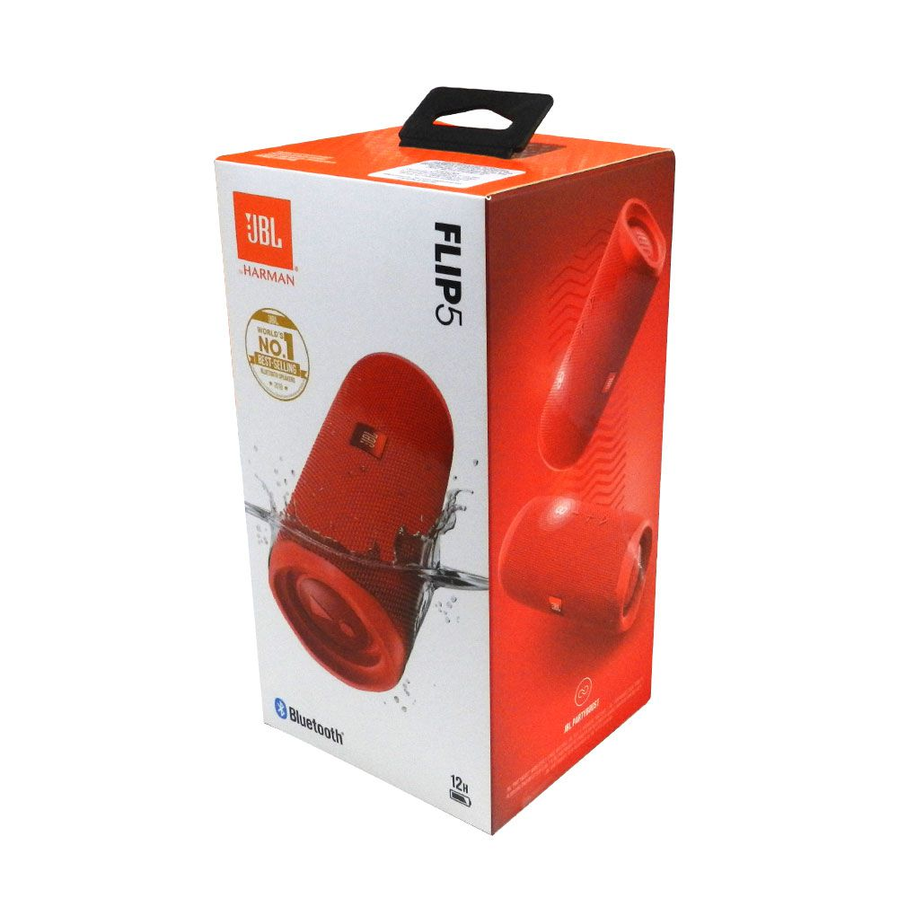 Caixa de Som Portátil JBL FLIP 5 VERMELHO Bluetooth 20W RMS