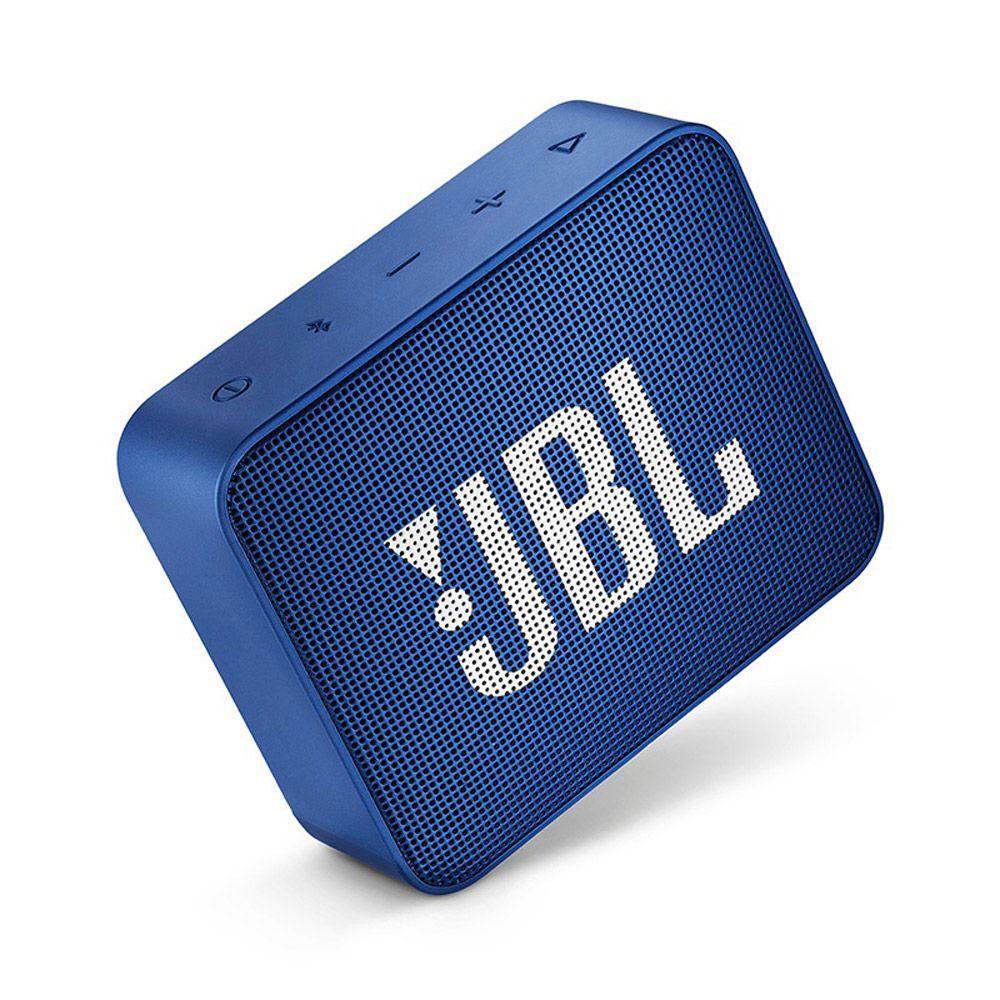Caixa de Som Portátil JBL Go 2 Azul Bluetooth-JBL GO 2 BLUE