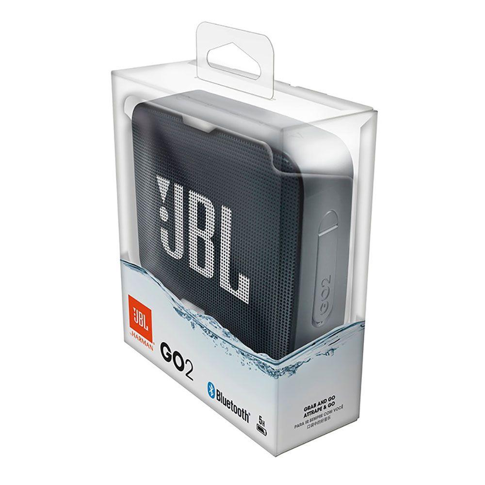 Caixa de Som Portátil JBL Go 2 Navy Bluetooth