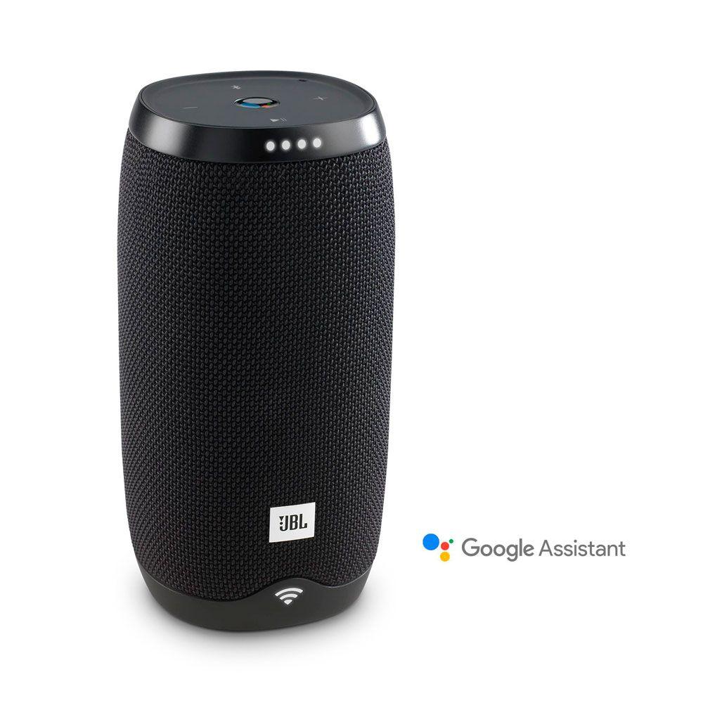 Caixa de Som Portátil JBL Link 10 Preto C/Google Assistente -Bluetooth