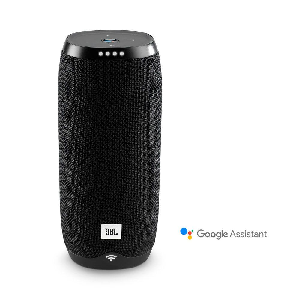 Caixa de Som Portátil JBL Link 20 Preto C/Google Assistente -Bluetooth