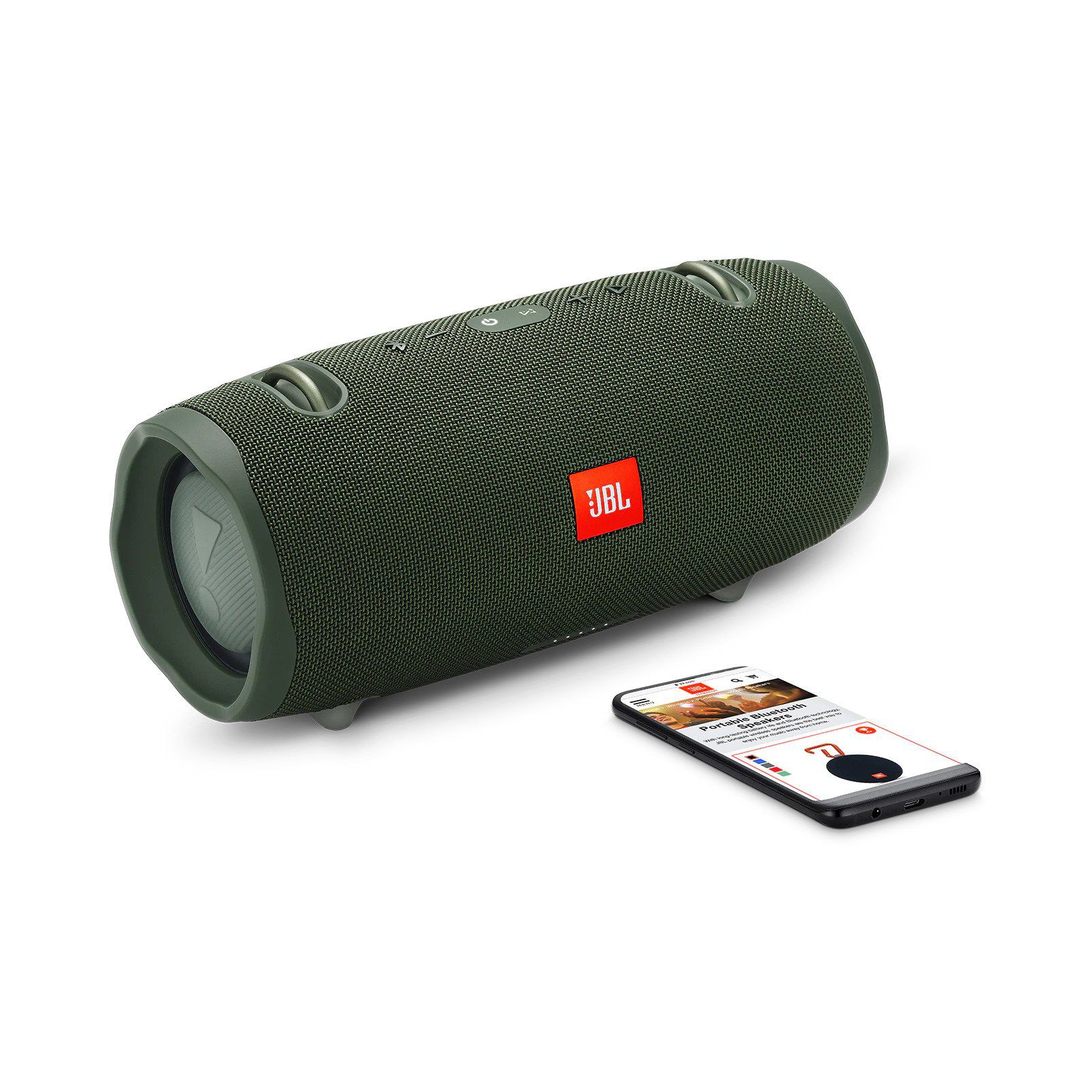 Caixa de Som Portátil JBL Xtreme 2 Verde Bluetooth - JBL