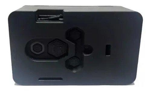 Caixa De Som Portátil My Bomber Bluetooth Preto