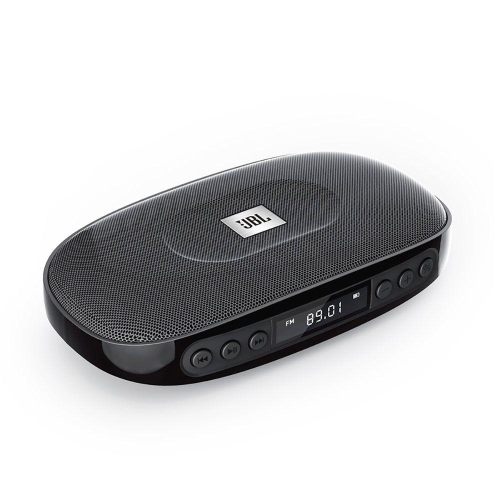Caixa Som Portátil JBL Tune Black-Bluetooth USB SD FM Preta