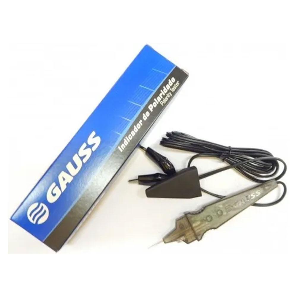 Caneta Teste Indicador de Polaridade e Tensão 12/24v Gauss AX002N - GAUSS AX002N /TC-3000