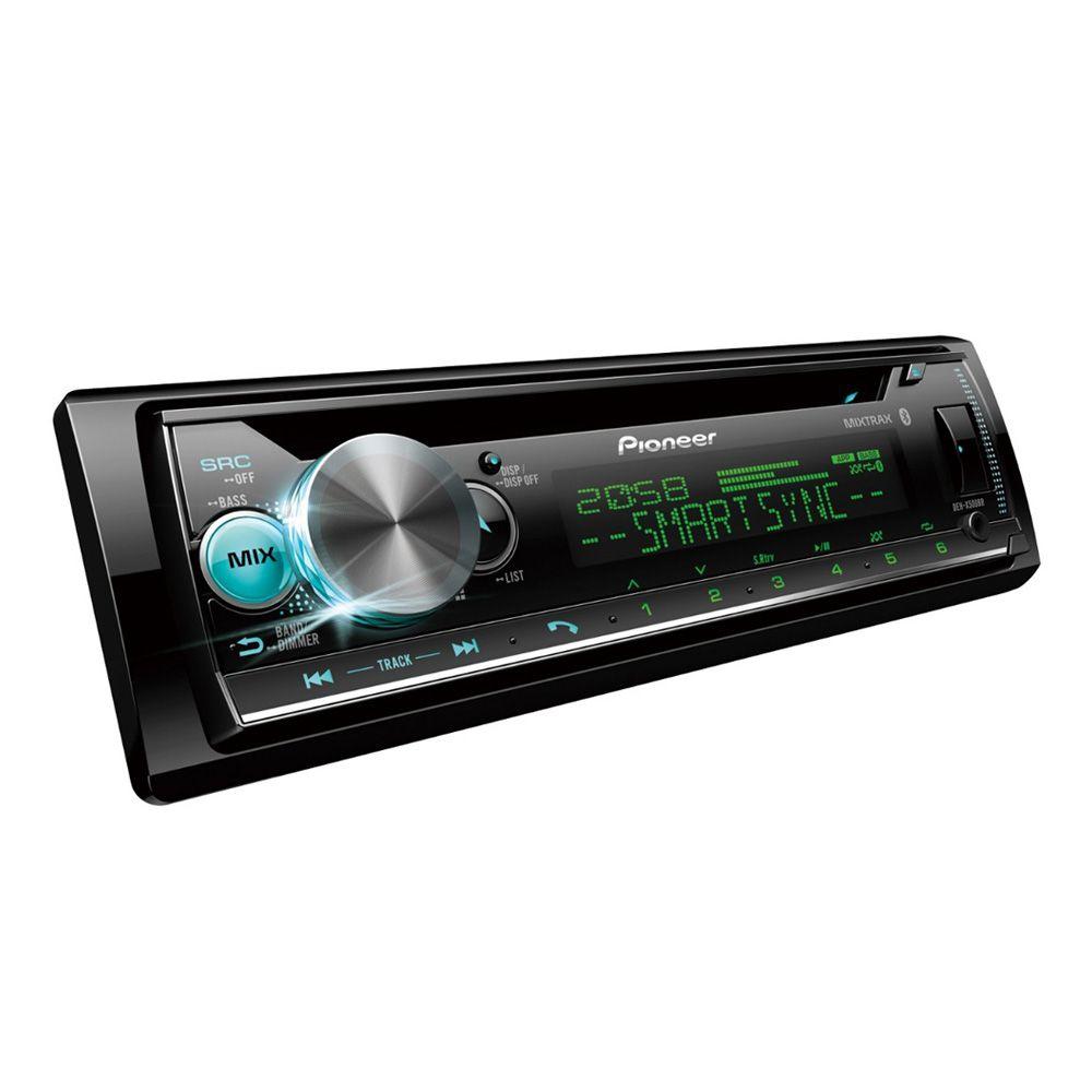 CD Player Media Receiver Pioneer DEH-X500BR Bluetooth